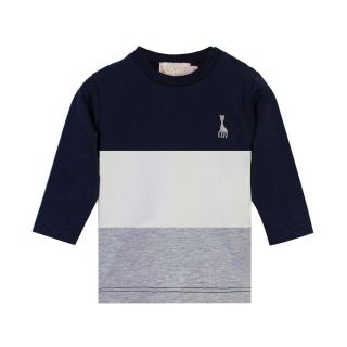 Baby Color Block Full Sleeves T-shirt
