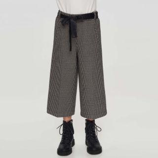 Checked Cullotes Pants