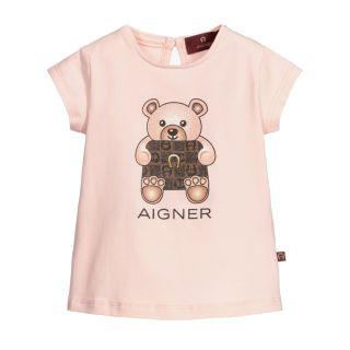 Pink Teddy Bear Baby T-Shirt