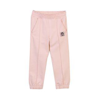 Baby Girls Pink Elasticated Hem Logo Jogger