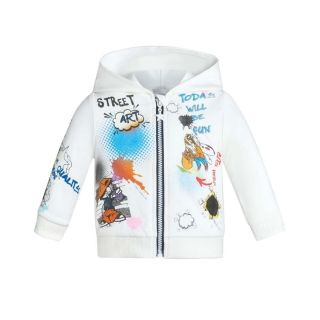 AOP Print Footer Sweat Jacket