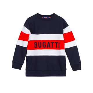 Boys Navy & Red Sweatshirt