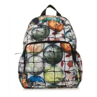 Green Football Backpack (36cm)