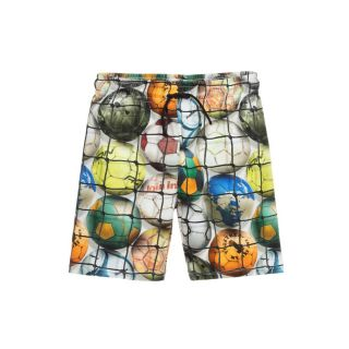 Boys Football Print Shorts