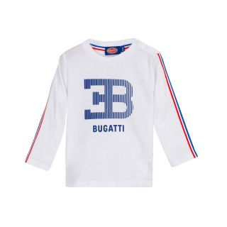Bugatti Baby Boys White Full Sleeve T-Shirt