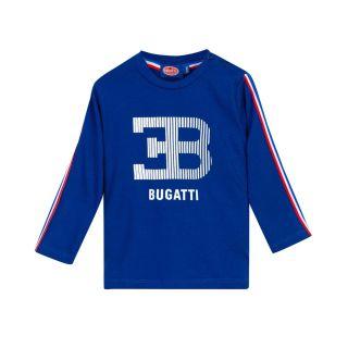 Bugatti Baby Boys Blue Full Sleeve T-Shirt
