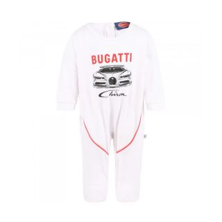 Bugatti Baby Boys Chiron Bodysuit in White