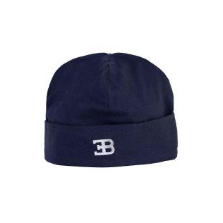 Baby Boys Navy Blue Logo Pima Cap