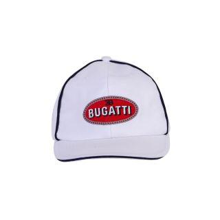 Boys Bugatti Logo White Cap