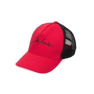 Signature Logo Cap In Red