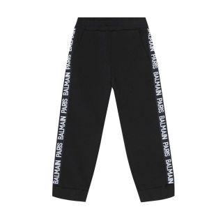 Cotton Side Logo Trackpants