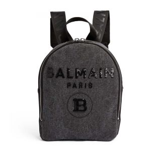Sequin Logo Backpack