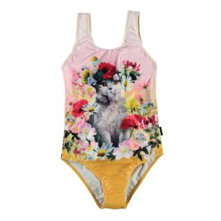 Flower Cat Swimsuit