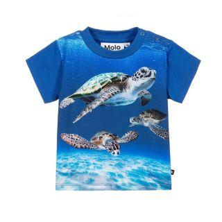 Blue Turtles Cotton T-Shirt