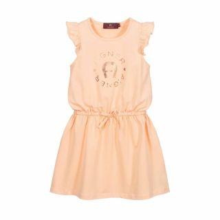 Peach Logo Dress