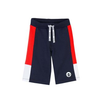 Navy Blue Jersey Baby Shorts