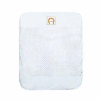 Blue Pima Cotton Blanket (88cm)