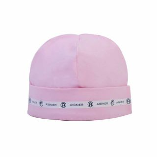 Pink Pima Cotton Baby Cap
