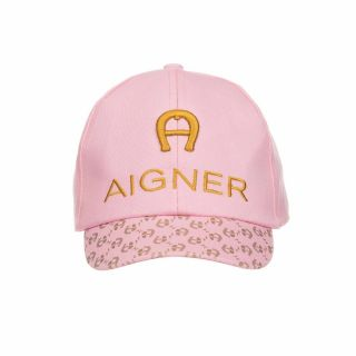 Girls Pink Cotton Cap