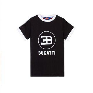 Bugatti Boys Black Cotton T-Shirt
