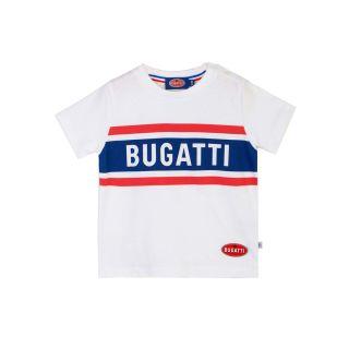 Bugatti Baby Boys Blue and Red Bugatti Logo Print T-shirt