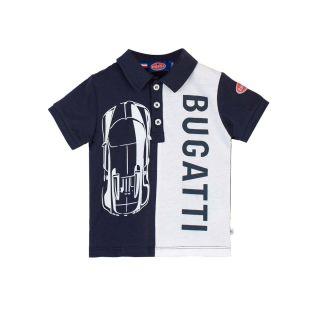 Bugatti Baby Boys Navy Cotton Poloshirt