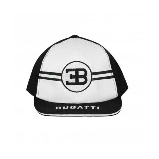 Boys Black & White Logo Cap