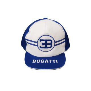 Boys Blue & White Logo Cap
