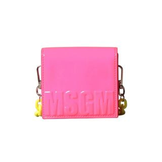 Girls Neon Pink & Yellow Crossbody Bag