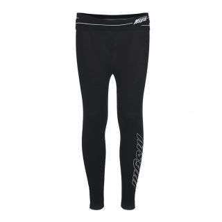Teen Black Logo Leggings
