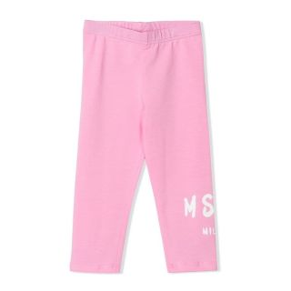 Pink Cotton Baby Leggings