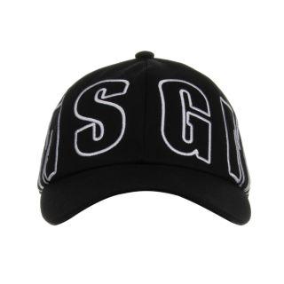 Black & White Cotton Logo Cap
