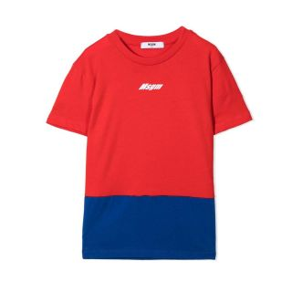 Teen Red & blue Logo T-Shirt