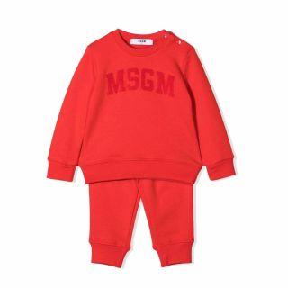 Baby MSGM Logo Print Unisex Tracksuit